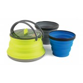 X Set 11 Bouilloire + 2 mugs
