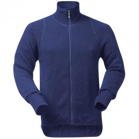 Veste Full Zip Jacket 400 Woolpower Bleue