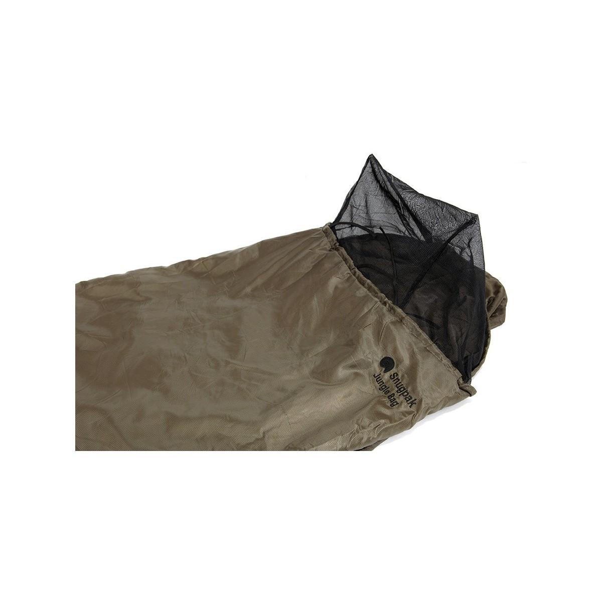 snugpak sac de couchage jungle bag noir bivouac tropical et brousse inuka. Black Bedroom Furniture Sets. Home Design Ideas
