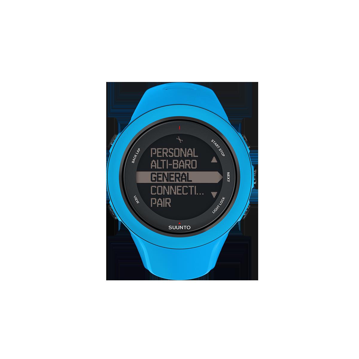 suunto montre gps suunto ambit3 blue sport montre de. Black Bedroom Furniture Sets. Home Design Ideas