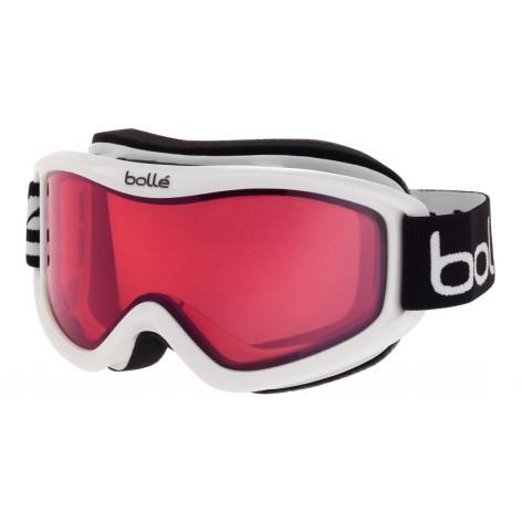 Masque de ski Mojo Shiny White