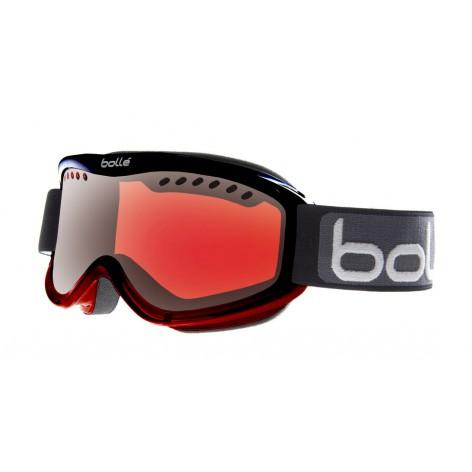 Masque de ski Carve Black Red Fade
