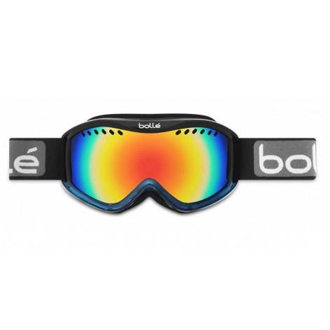 Masque de ski Carve Black & Blue Fade