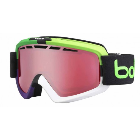 Masque de ski Nova II Matte Green Square