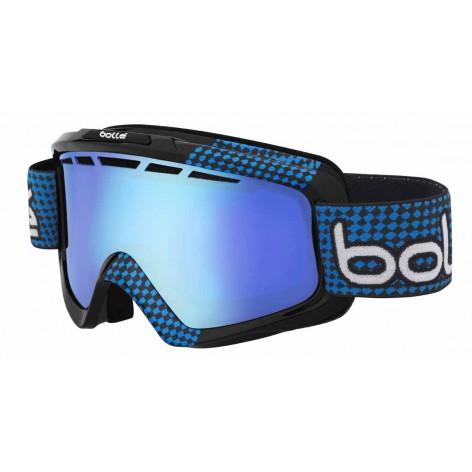 Masque de ski Nova II Matte Black & Blue