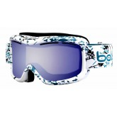 Masque de ski Monarch White & Turquoise Japan