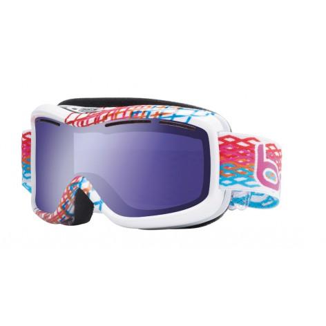 Masque de ski Monarch White Diamond
