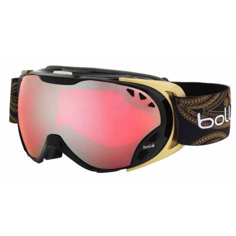 Masque de ski Duchess Shiny Black & Gold
