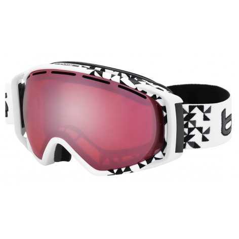 Masque de ski Gravity White Diagonal
