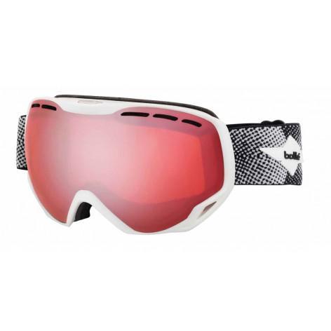 Masque de ski Emperor Matte White Cross