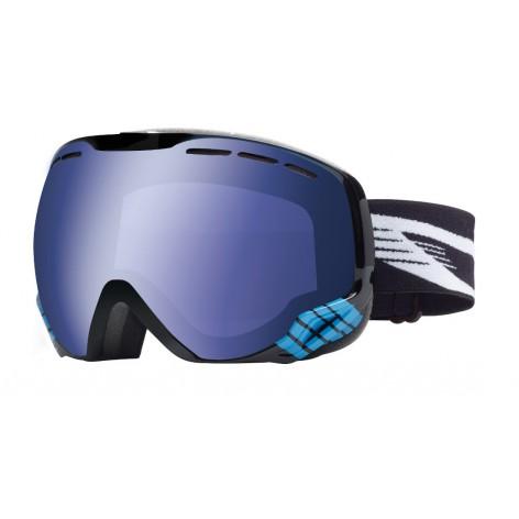 Masque de ski Emperor Black & Blue Eagle