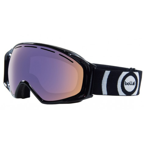 Masque de ski Gravity Shiny Black