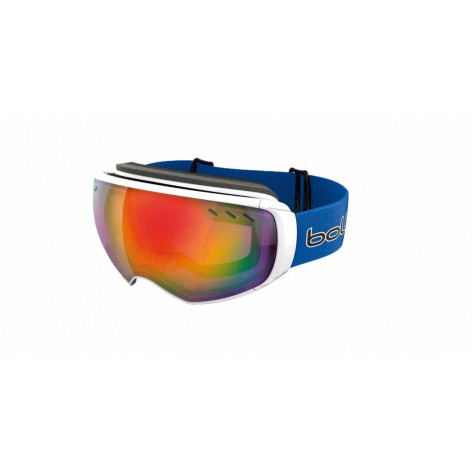 Masque de ski Virtuose White & Blue