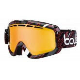 Masque de ski Nova II Shiny Black & Red