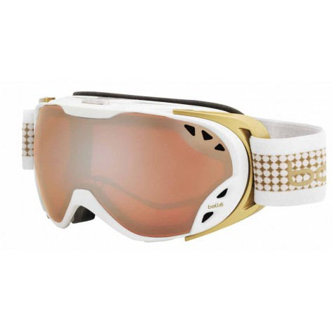 Masque de ski Duchess White & Gold