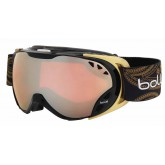 Masque de ski Duchess Shiny Black & Gold