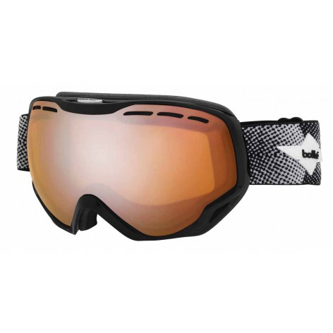 Masque de ski Emperor Shiny Black Cross
