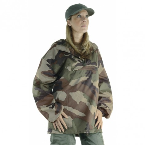 Coupe vent imperméable camouflage