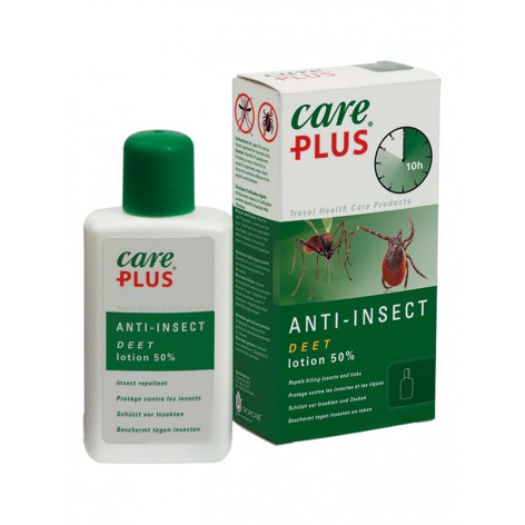 Lotion DEET 50% anti insectes CARE PLUS