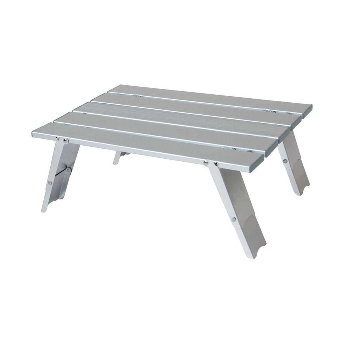 Mini table pliable de camping en alu yellowstone - Table pique nique pliante ...