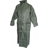 Manteau de pluie vert