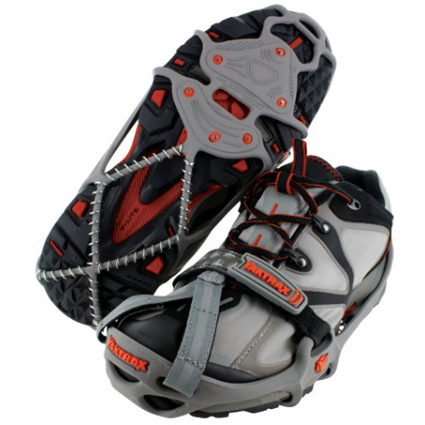 yaktrax run crampons anti glisse pour chaussures trail running hiver inuka. Black Bedroom Furniture Sets. Home Design Ideas