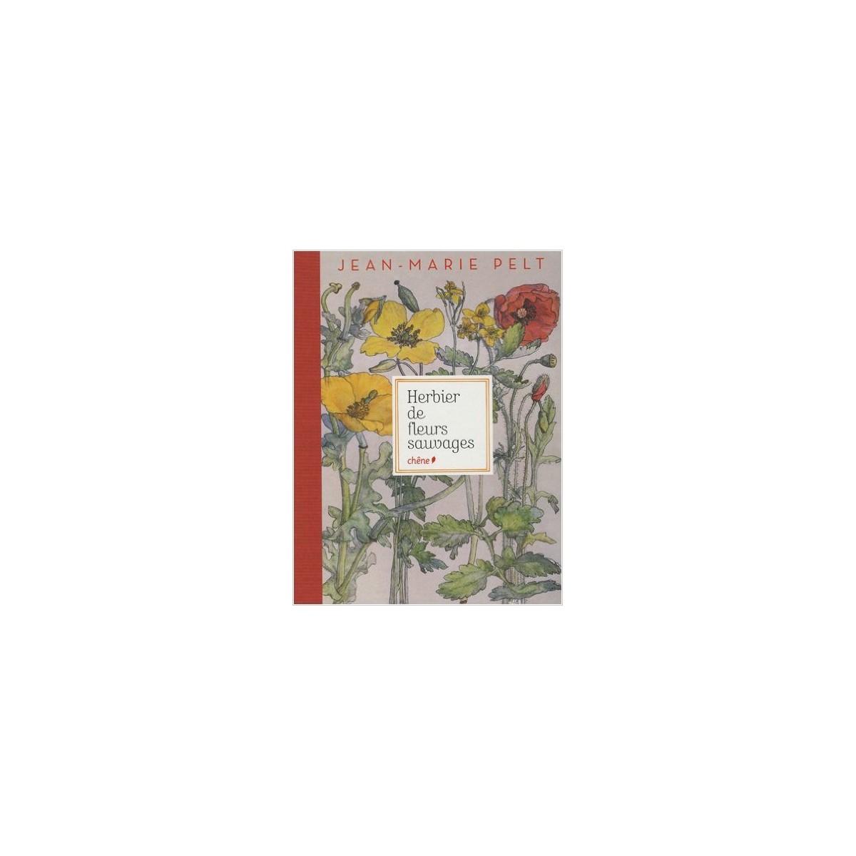 editions chêne - herbier de fleurs sauvages : librairie nature