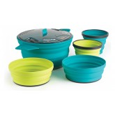 X Set 31 Popote + 2 bols + 2 mugs