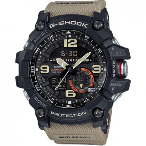 Montre Casio G-Shock Mud Master Verte