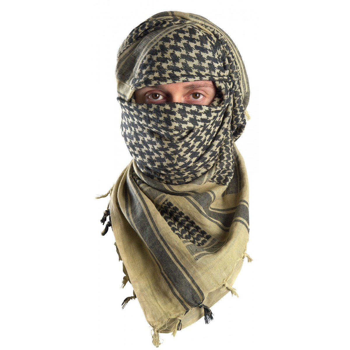 Foulard multifonctions Shemagh - Protection visage - Inuka 21b110f074f