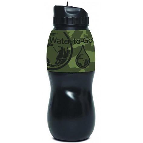 Gourde filtre à eau jungle