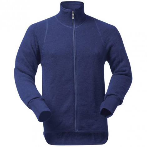 Veste Full Zip Jacket 400 Woolpower Bleue
