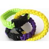 Bracelet survie paracord couleur