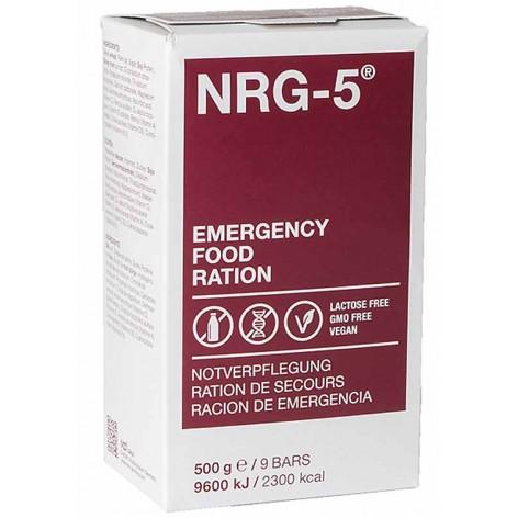 Ration de survie et secours d'urgence NRG-5 de MSI