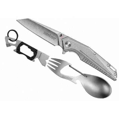 Couteau multi-fonctions 3 pièces Kershaw