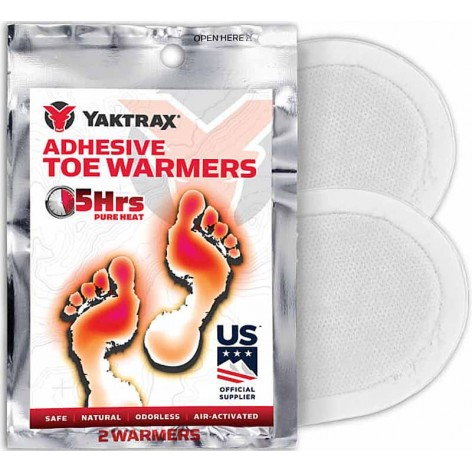 3 paires chauffe pieds Yaktrax