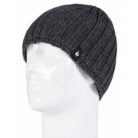 Bonnet hiver Men's Hat Heat Holders Gris