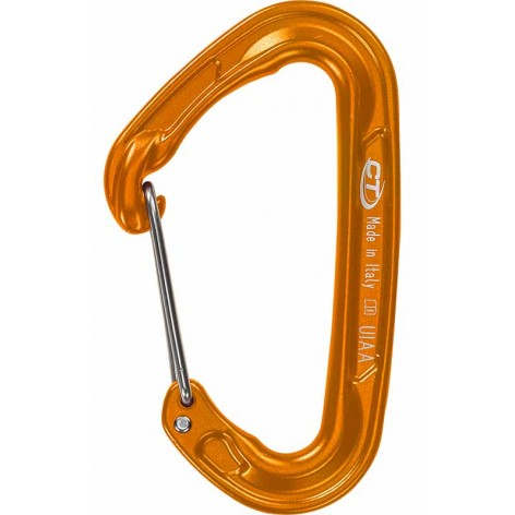 Mousqueton Fly Weight Evo orange Climbing Technology