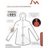 Veste de survie isothermique Surviva