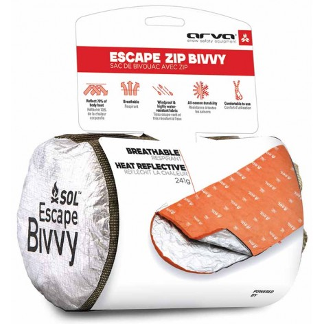 Sac de survie bivouac Escape Zip