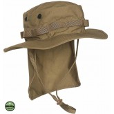 Chapeau de désert et brousse avec protège nuque