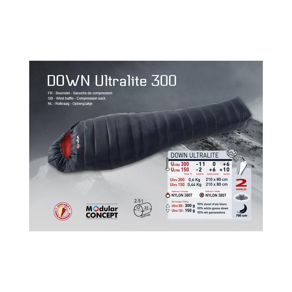 sac de couchage wilsa down ultralite 300