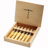 "Coffret bois collection 6 couteaux ""Nature"" OPINEL"