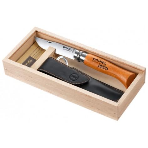 Plumier OPINEL avec couteau n°8 et un étui Alpine