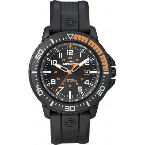Montre Timex Expédition Uplander résine noir