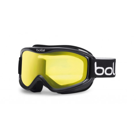 Masque de ski Mojo Shiny Black