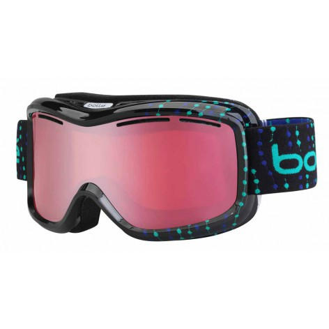 Masque de ski Monarch Black & Blue Beads