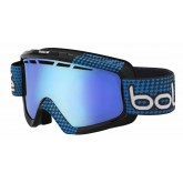 Masque de ski Nova II Matte Black & Blue