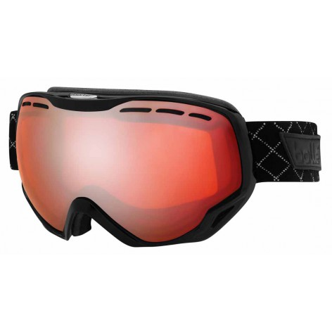 Masque de ski Emperor OTG Shiny Black