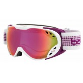Masque de ski Duchess White & Plum